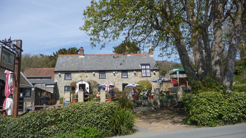 Buddle Inn, Isle of Wight, famous pub in connection with smugglers.