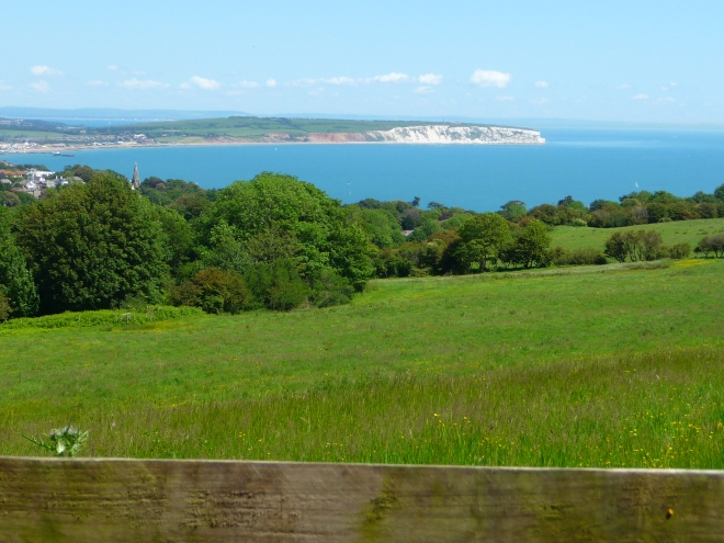View from The Downs, Isle of Wight