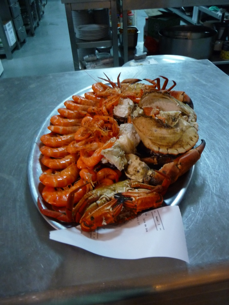 Crabs and Giant Prawns