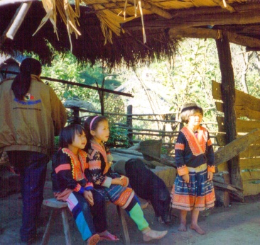 Akha Children at Play