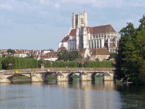 Auxere on the River Yonne