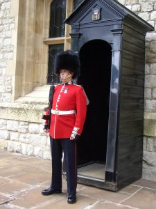A Grenadier Guard in London