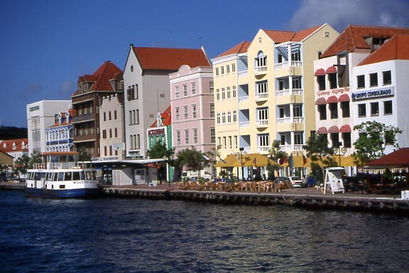 Beautiful Williamstad, Dutch Antilles