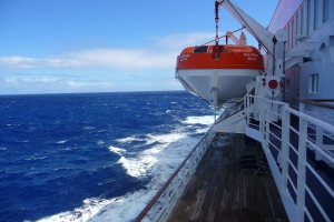 Lifeboat and Sea