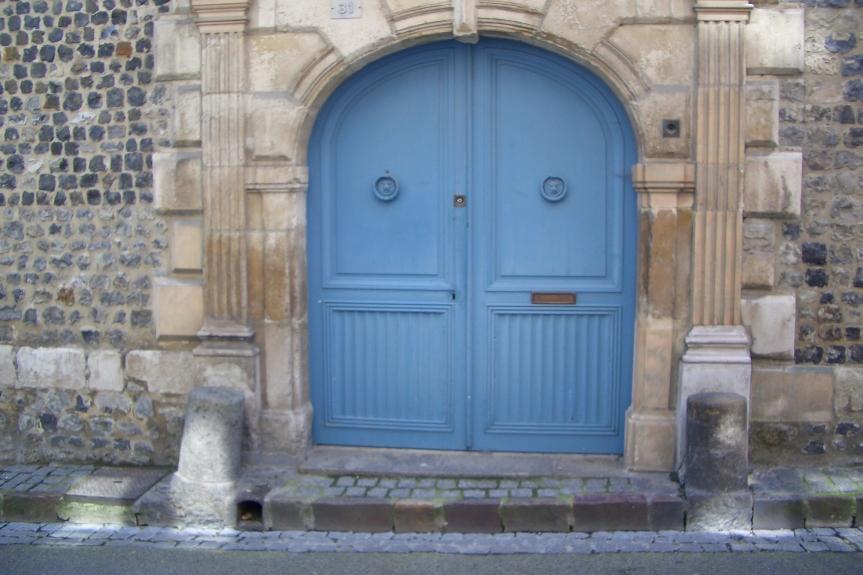 Blue Door, 17th century House