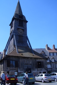 Honfleur Wooden Church Spire