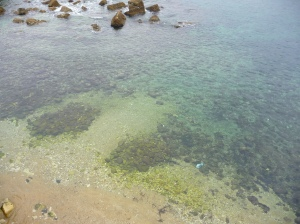 Clear Waters of the Bay in Siracusa, Sicily