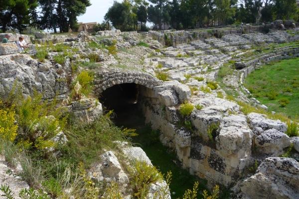 Roman Amphitheatre, Siracusa, Sicily