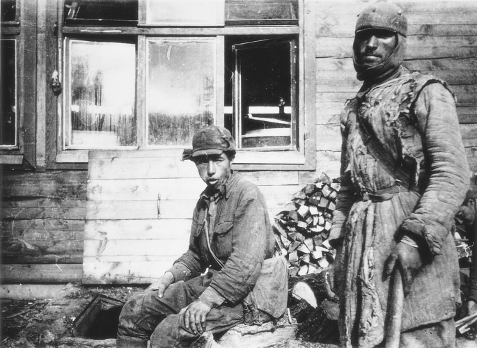 Russian POWs on Jersey during World War ll