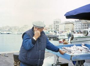 Fisherman on Quai, Marseilles