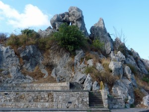 Rocks Lend Grandeur to the Mountains - Copy