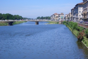 The River Arno, away from the Crowds