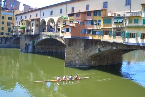 Canoeing on the River Arno