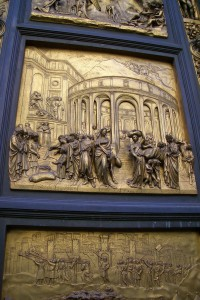 A Panel from a Baptistry Door
