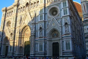 The Glorious Facade of the Baptistry