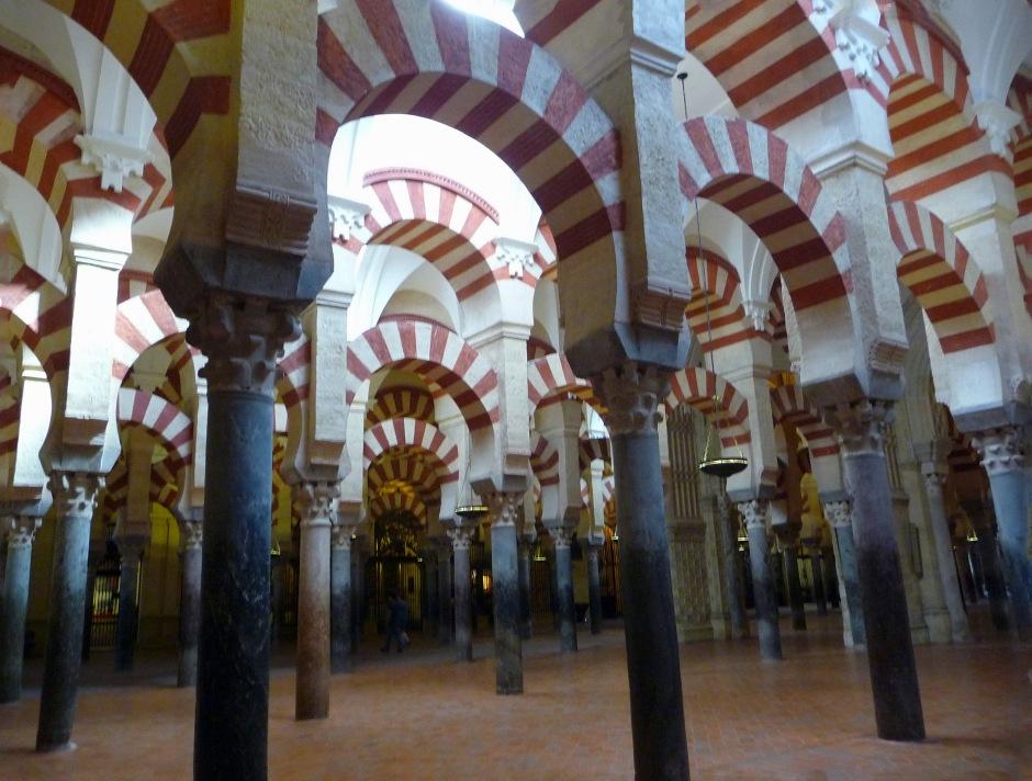 Mesquita at Cordoba, Spain