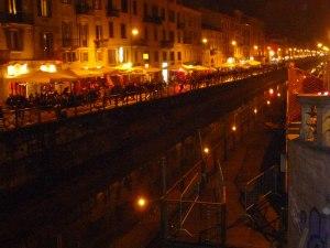 Night scene at Navilgi, Milan
