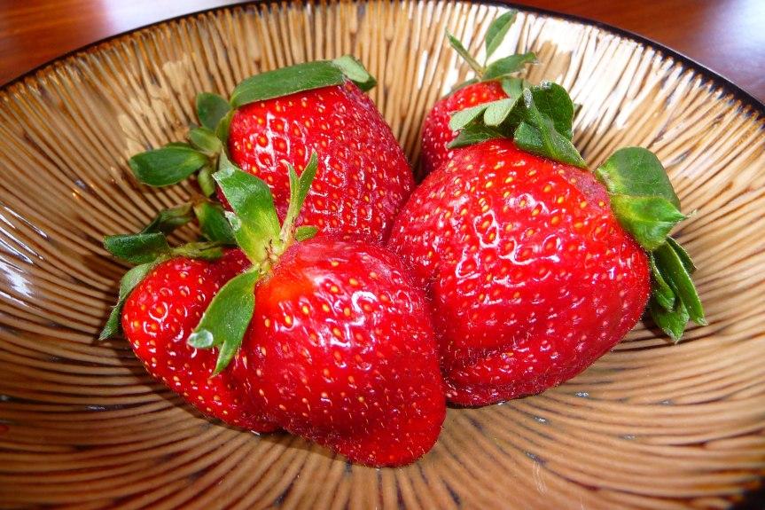 Fresh fruit always available.