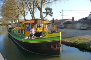 Shop on the Canal du Midi