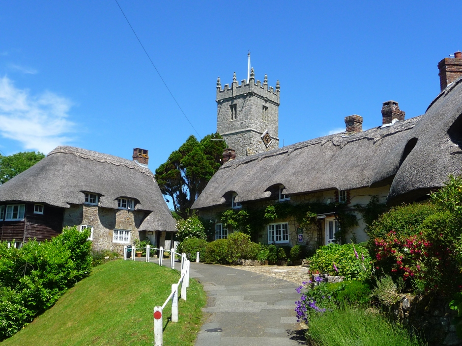 Godshill, Isle of Wight, a famous town near where i live.