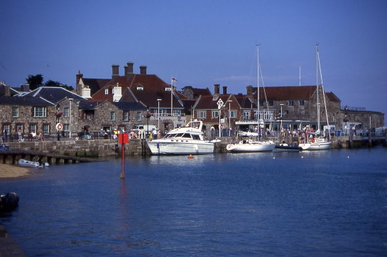Yarmouth Harbour, Isle of Wight.