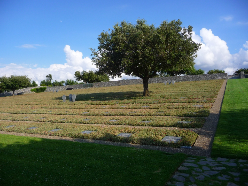 German Cemetery at Malame