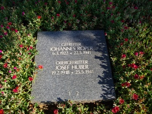 Plaque to a German Soldier