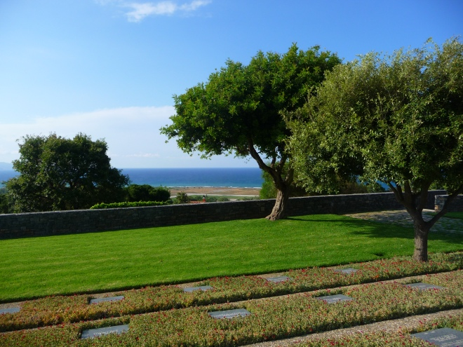 The German Cemetery High Above Malame, Crete