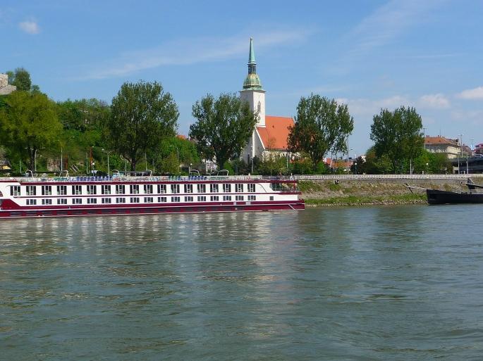 Pleasure Boat on the Danube