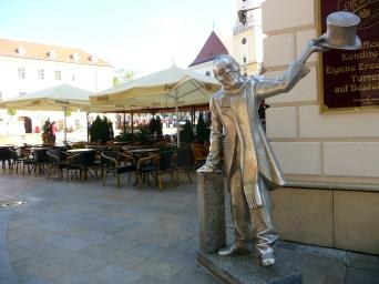 Statue in Silver