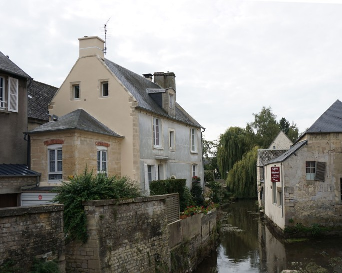 Bayeux, The River Aure