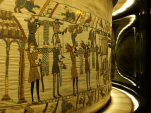 Section of the Bayeux Tapestry. Photo Copyright Ville de Bayeux