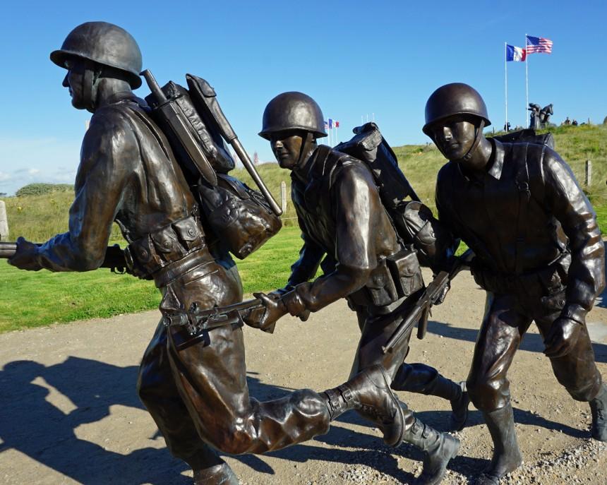 War Memorial, D=Day Landings in Normandy