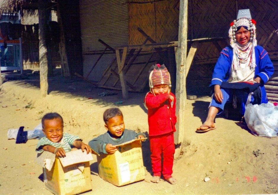 Akha Hill Tribe family