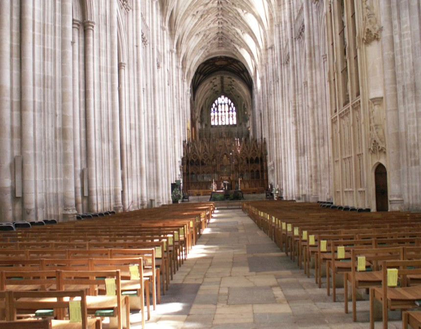 Interior Winchester Cathedral