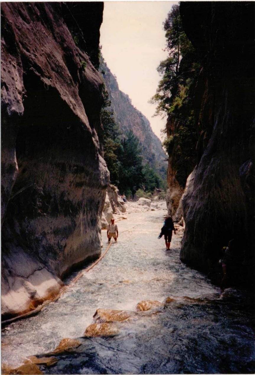 Samaria Gorge, Crete2