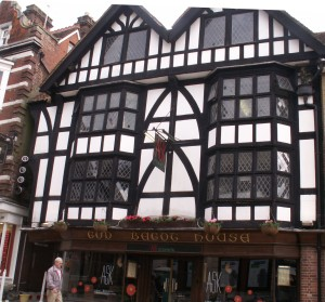 Half-timbered hous in Winchester
