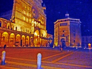 Night time in Cremona