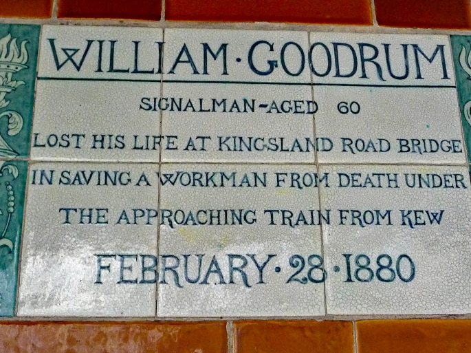 London Hero = 60 yer old William Goodrum