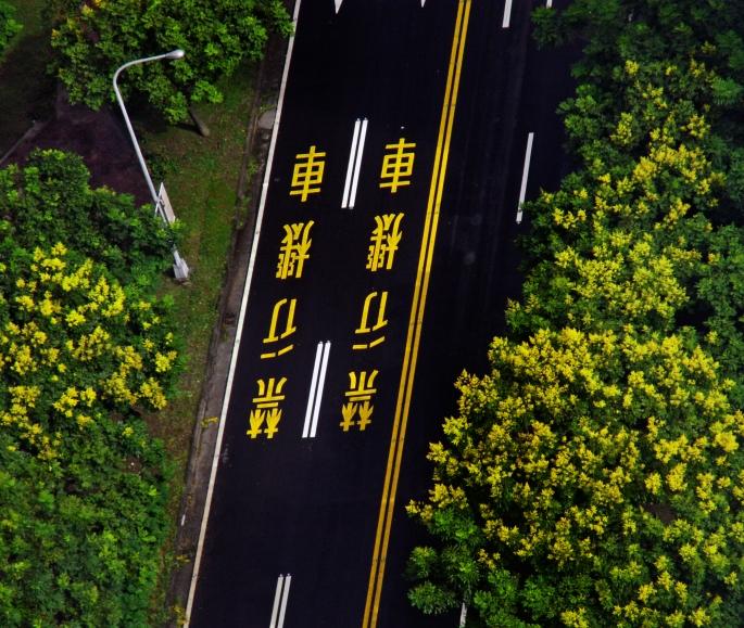 road markings, Taiwan.jpg