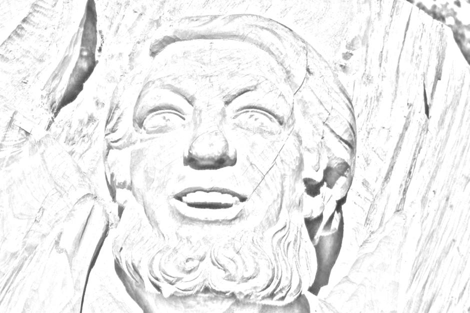 Zeus Pencil Sketch