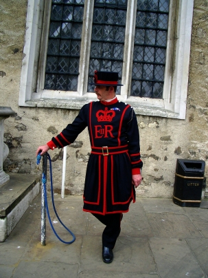 A Familiar Sight at The Tower of London