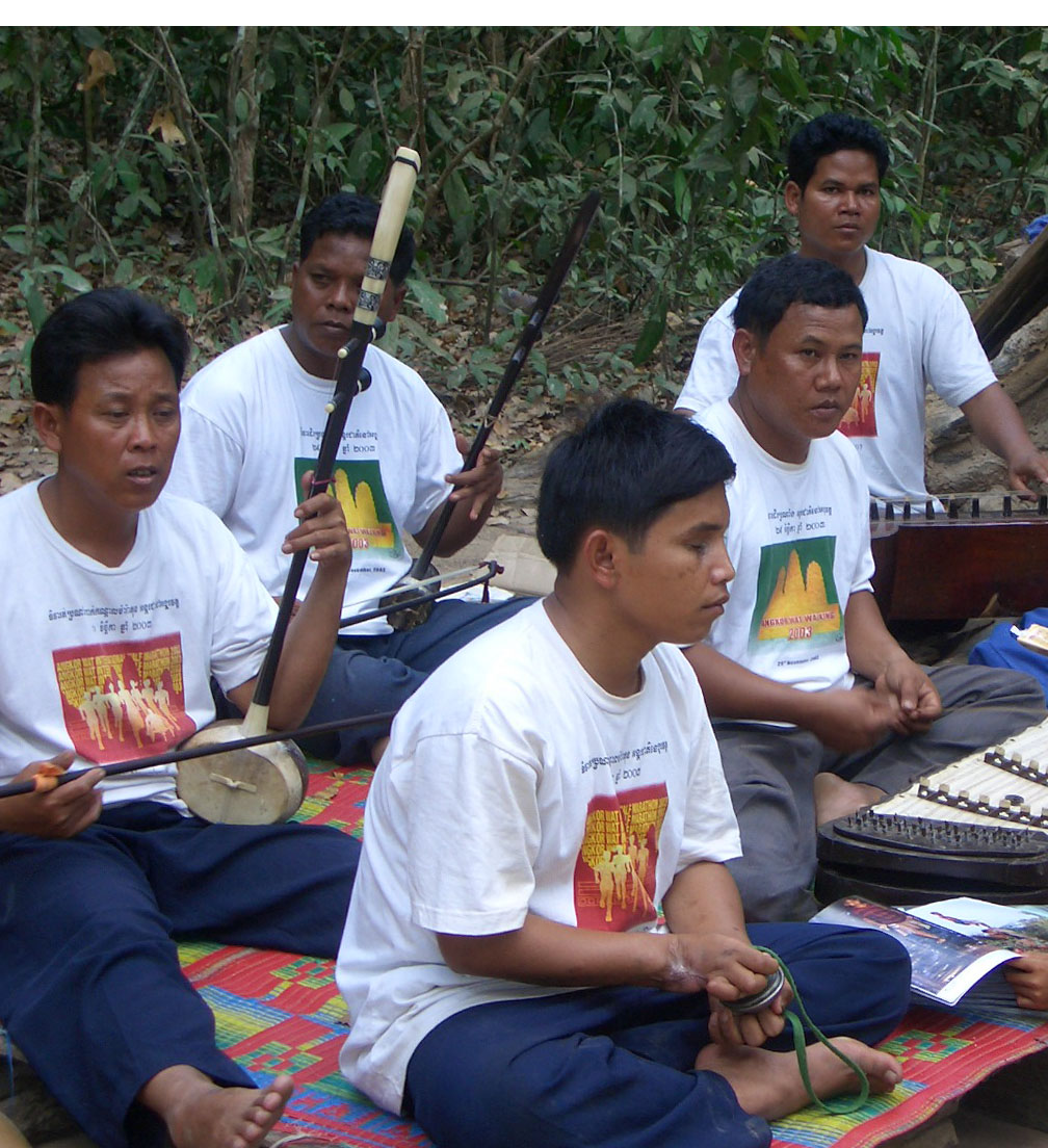 A Group of Blind Musicians in Cambodia