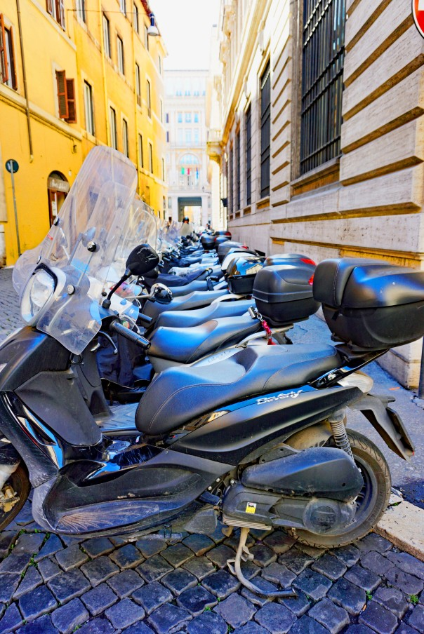 City of the Vespa