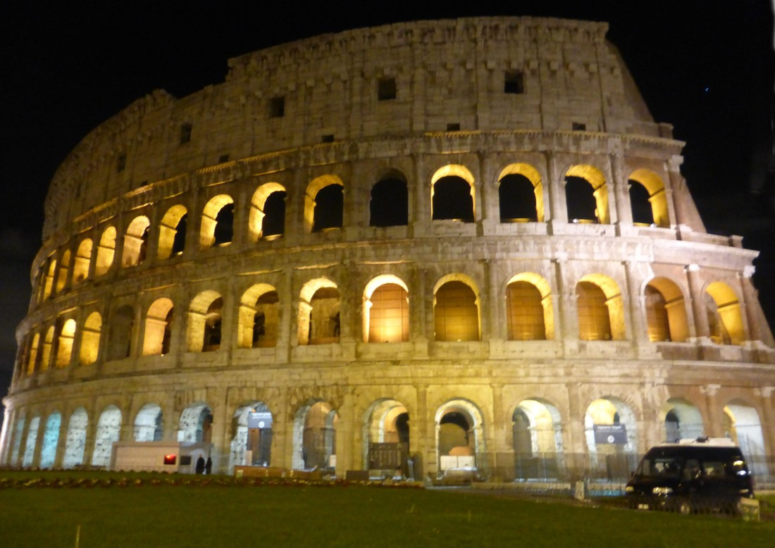 Colosseum by Night.