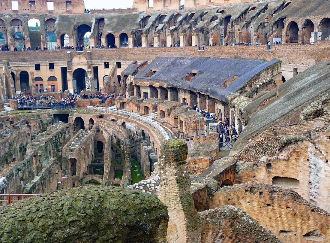 Part of Interior Colosseum