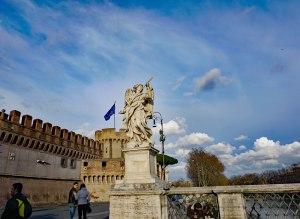 Angel-on-Ponte-Sant'Angelo-near-Castle