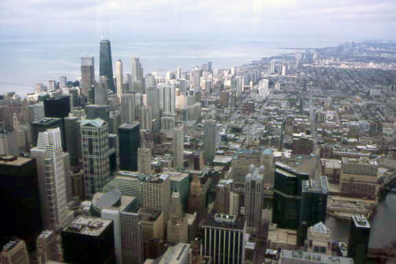 Chicago from Sears' Toweer