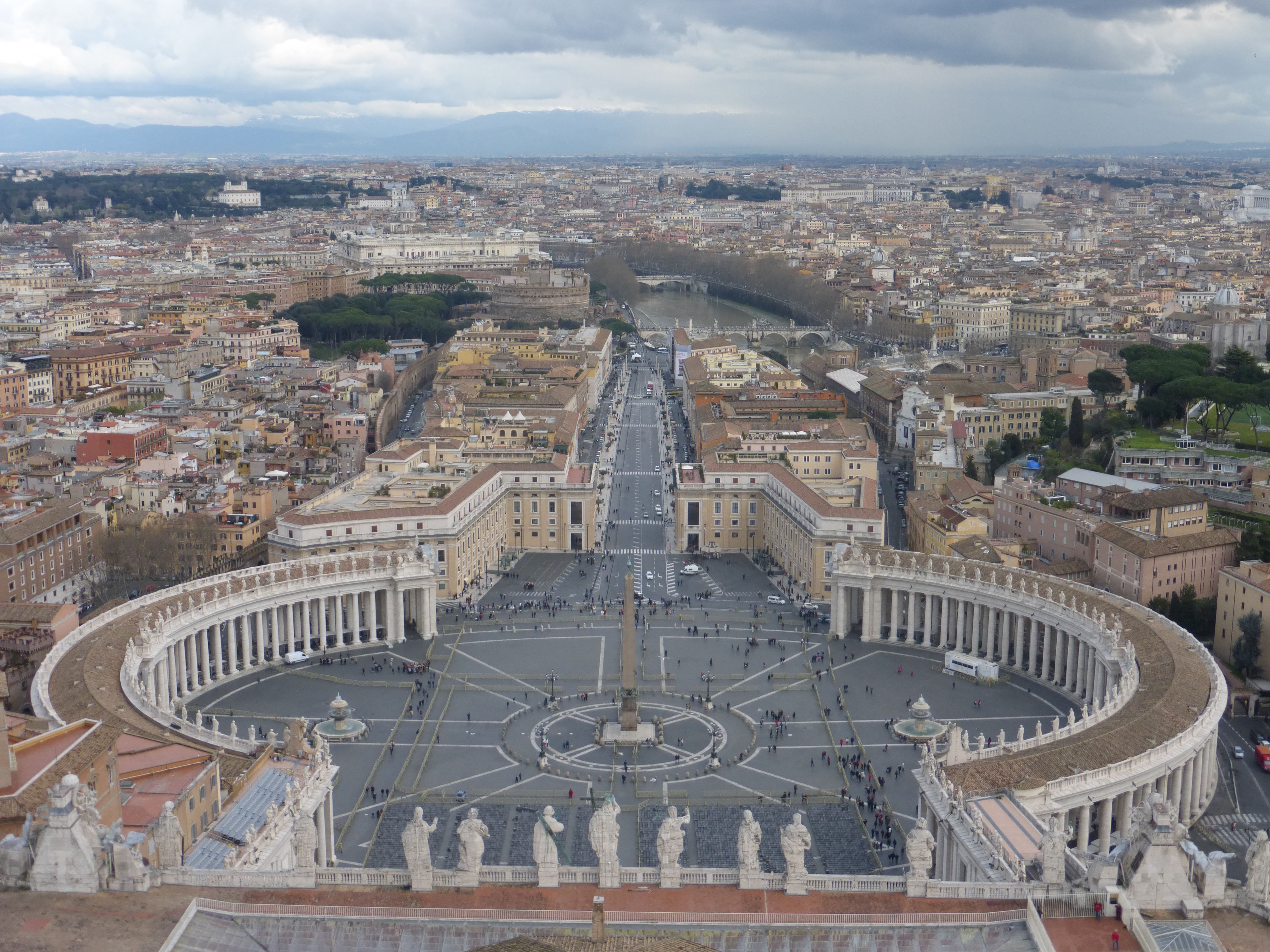View from the Vatican Dome