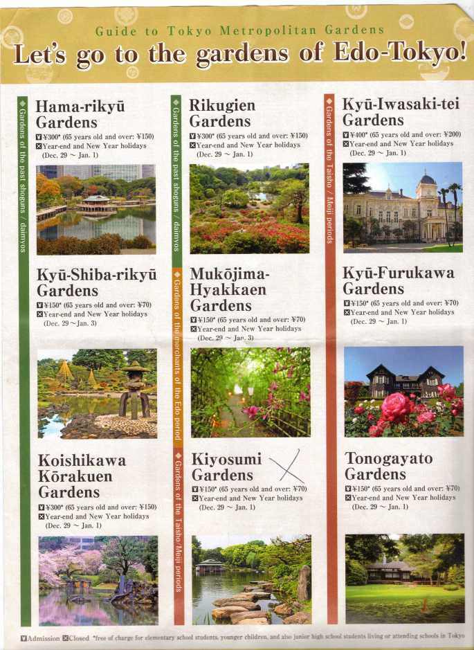 Tokyo Gardens